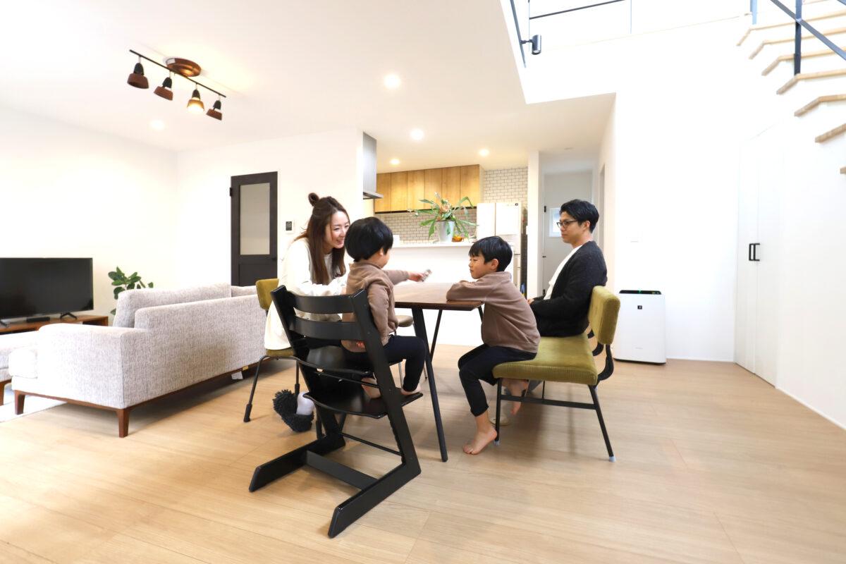『シンプルな家、シンプルな暮らし』-川越市K様-