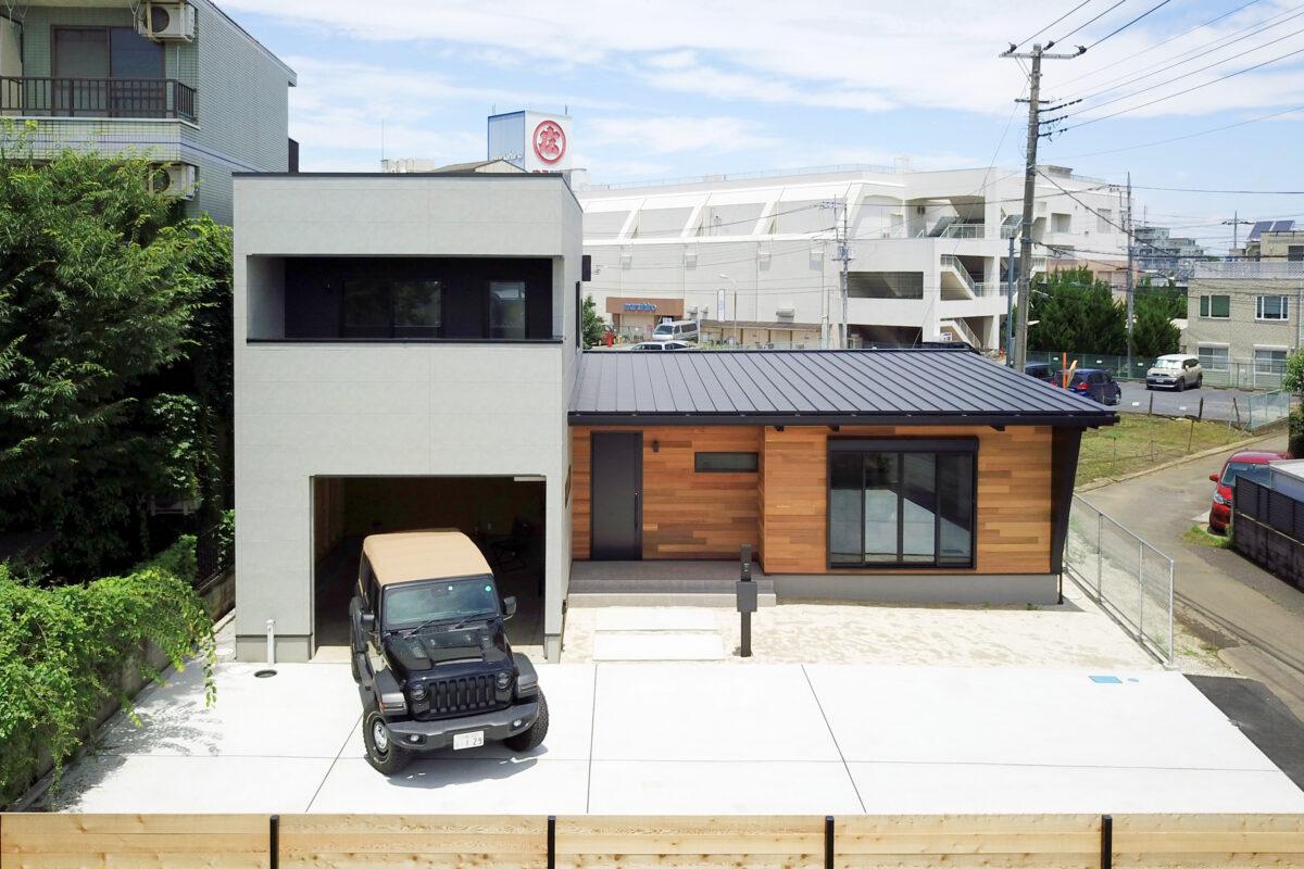 ORDER HOME -GARAGE+平屋-